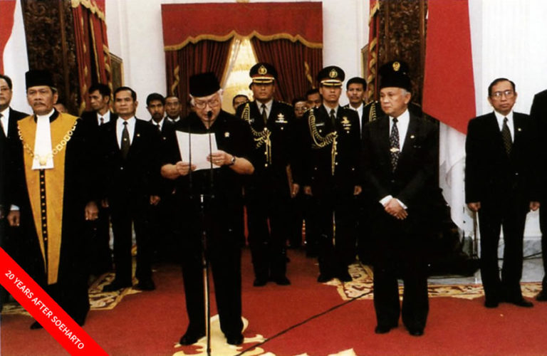 20 years after Soeharto